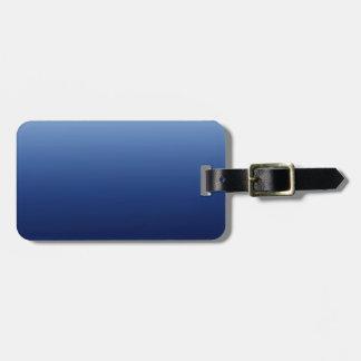 Dark Blue Luggage Tag