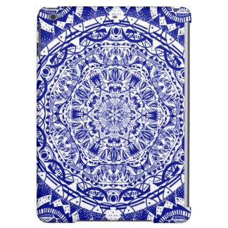 Dark Blue Mehndi Mandala