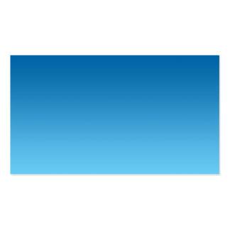 Dark Blue Ombre Pack Of Standard Business Cards