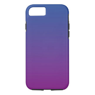 Dark Blue & Purple Ombre iPhone 8/7 Case