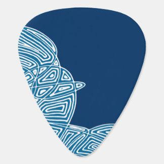 Dark Blue Skies Guitar Pick