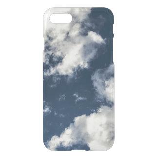 Dark blue sky and beautiful clouds iPhone 7 case