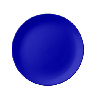 Dark Blue Solid Colour Plate