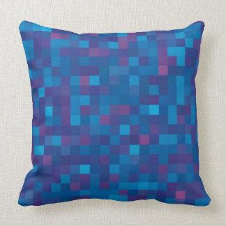 Dark blue  squares cushions