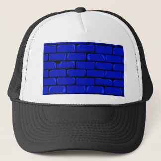 Dark Blue Wall Trucker Hat