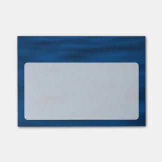 Dark Blue Water Ripples Post-it Notes