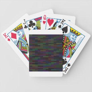 dark bricks bicycle playing cards