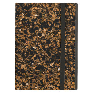 Dark brown glitter iPad Air Case