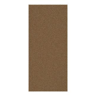 Dark Brown Star Dust Custom Rack Card