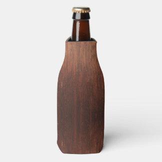 Dark Brown Wood Bottle Cooler