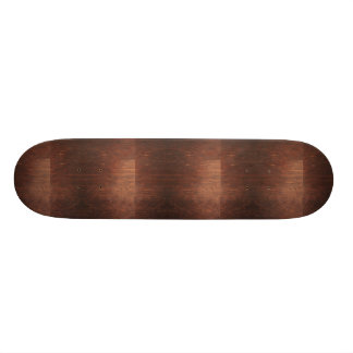 Dark Brown Wood Texture Skate Boards