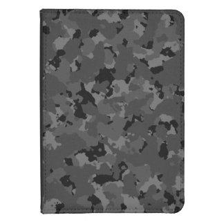 Dark Camo Pattern Kindle Touch Cover