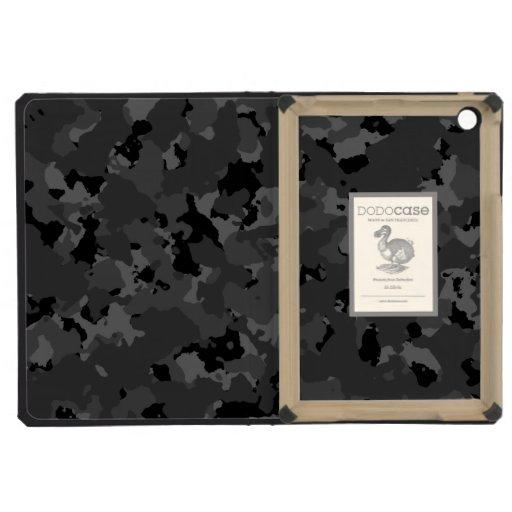 Dark Camo Pattern iPad Mini Retina Cases
