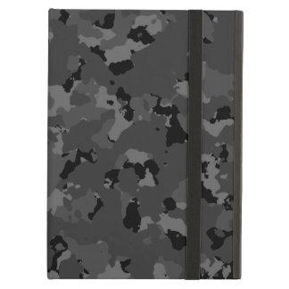 Dark Camo Pattern iPad Air Cases