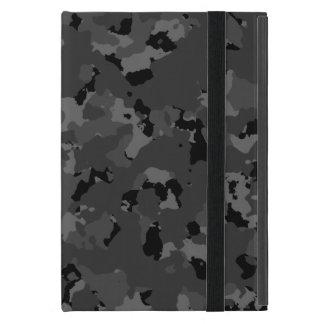Dark Camo Pattern Covers For iPad Mini