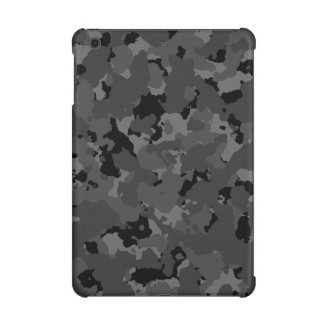 Dark Camo Pattern iPad Mini Cases