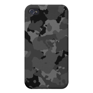 Dark Camo Pattern Covers For iPhone 4