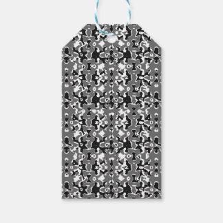 Dark Camo Style Design Gift Tags