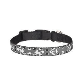 Dark Camo Style Design Pet Collar