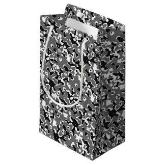 Dark Camo Style Design Small Gift Bag