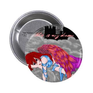 Dark Castle Dream 6 Cm Round Badge