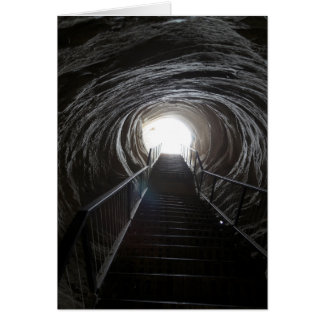 Dark Cave Tunnel Card