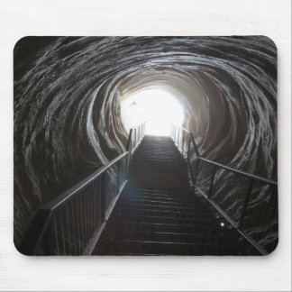 Dark Cave Tunnel Mouse Pad