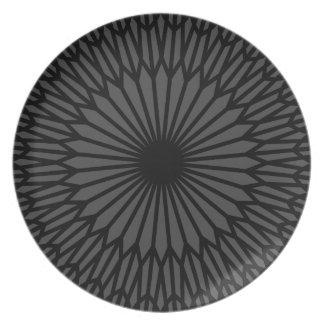 Dark Chakra Plate