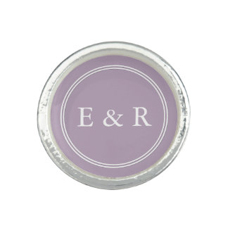 Dark Chalky Pastel Purple Wedding Party Gifts