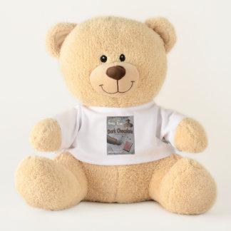 Dark Chocolate Film Noir Teddy Bear