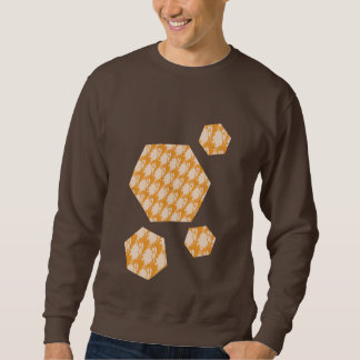 Dark chocolate sweatshirt with cool design