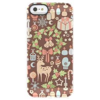Dark Christmas background Permafrost® iPhone SE/5/5s Case