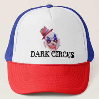 Dark Circus Halloween Trucker Hat