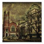 Dark City Photo Collage