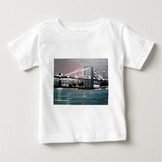 Dark CityScape Baby T-Shirt
