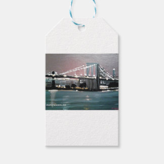 Dark CityScape Gift Tags