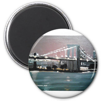 Dark CityScape Magnet