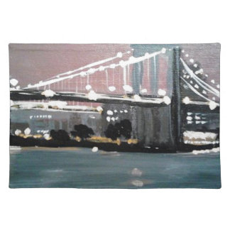 Dark CityScape Placemat