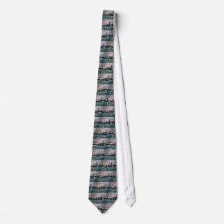 Dark CityScape Tie