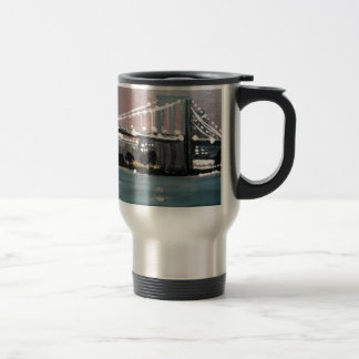 Dark CityScape Travel Mug