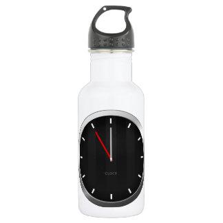 Dark Clock 532 Ml Water Bottle
