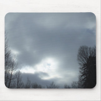 Dark Clouds Clearing. Mouse Pad