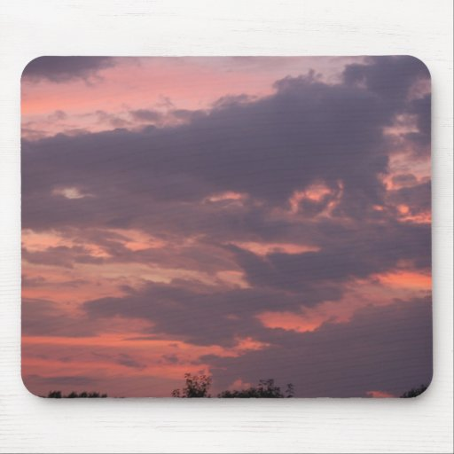 dark clouds mouse pad