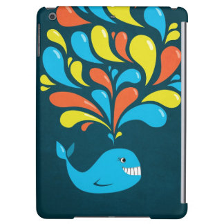 Dark Colorful Happy Cartoon Whale Lightweight