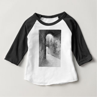 Dark corridors of an old fortification structure baby T-Shirt