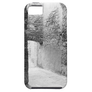 Dark corridors of an old fortification structure iPhone 5 case