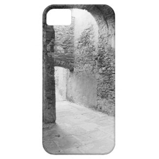 Dark corridors of an old fortification structure iPhone 5 cover