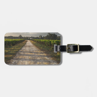 Dark Country Road Luggage Tag