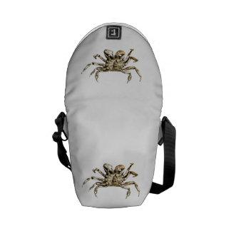 Dark Crab Photo Courier Bag