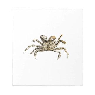Dark Crab Photo Notepad